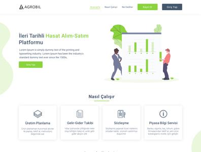 Agrobil Landing Page