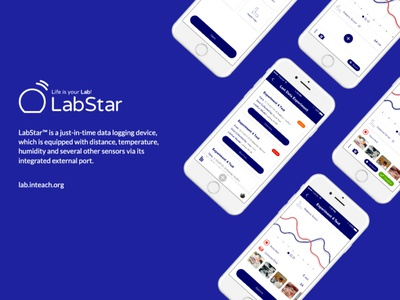 LabStar mobile app ux mobile ui design