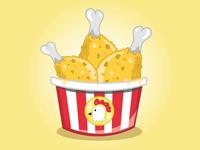 Fast Food Festival - Chicken Bucket
