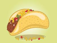Fast Food Festival Taco