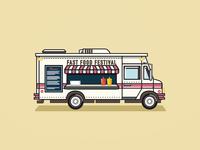 Fast Food Festival Foodtruck