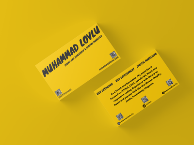 Personal Business Card Design - Personal Branding/ logo design brand logo app logo design logo design personal brand business card ui branding logo graphic design