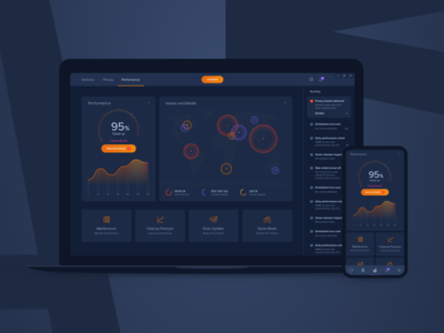 Performance Dashboard - Concept 1