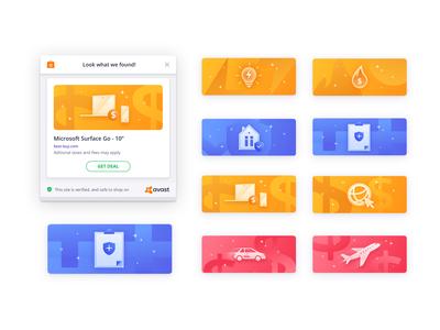 Avast Safeprice - Chrome extension - Icons