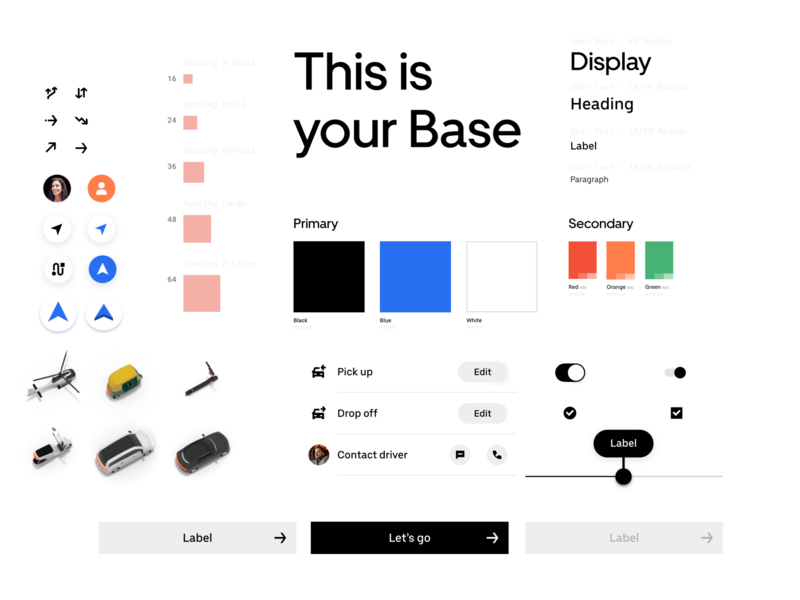 Uber's Design System: Base library pattern base platform ui design uber