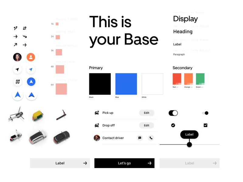 Uber's Design System: Base library pattern base platform ui design uber