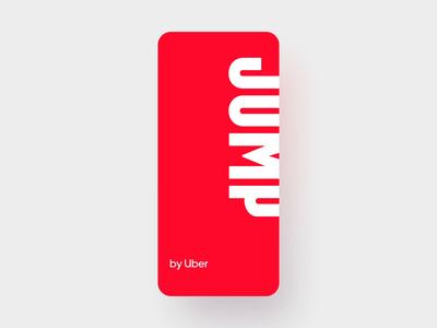 Jump Unlock design app uber scanning scan qr qrcode unlock launcher launch bike jump
