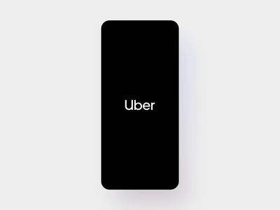 Rider Launch Transition rider uber app launch launcher launch screen ui map pin