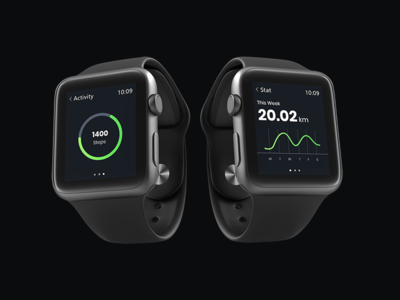 Fitness Ui For Smartwatch