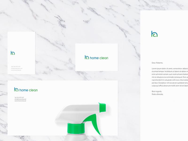 Home Clean - Branding