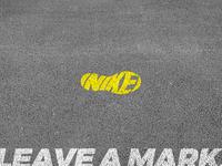 Nike - Leave a mark.