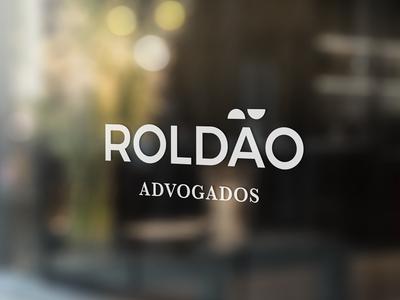Roldão Lawyers - Branding lawyer symbol law brand branding logotype logo