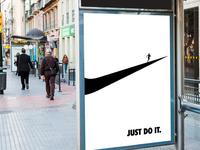 Nike ad.