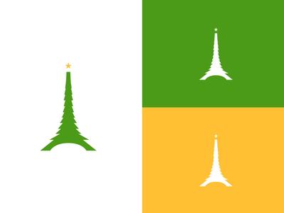 Christmas logo for France. christmas logo france logo france christmas logotype logo