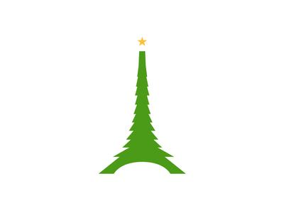 Christmas logo for France france logo christmas logo christmas france logotype logo