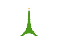 Christmas logo for France