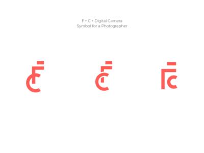 F+C - Symbol for a photographer fc logo fc c logo f logo digital camera c f photographer photography symbol logotype logo