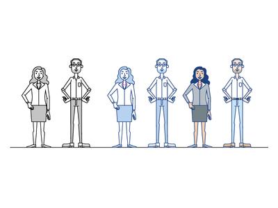 Gravis Characters