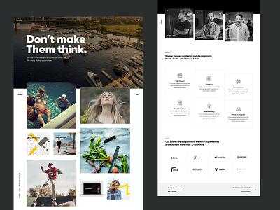 Mosby - Creative Portfolio WordPress Theme corporate business creative ui ux web design agency themeforest wordpress portfolio