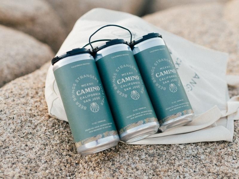 Camino Brewing Co. - Crowler Designs camino brewing co camino brewing co camino brewing design desert brewery illustration branding san francisco california beer