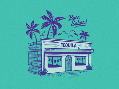 Golden Rule - Margarita matches mexican cocktails spirits retro illustration matchbook tequila cantina margarita golden rule