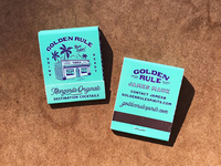 Golden Rule - Margarita Matchbooks