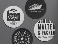 The Rake - Coasters