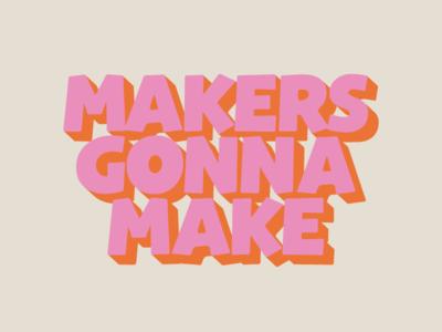 Camino Studio - Typography camino studio quote summer lettering type