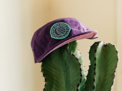 Golden Rule  - Apparel branding logo design cactus california san francisco hats patches cocktails