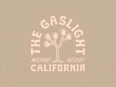 The Gaslight - Branding brand nicola broderick design airbnb california retro badge logo desert mojave joshua tree branding