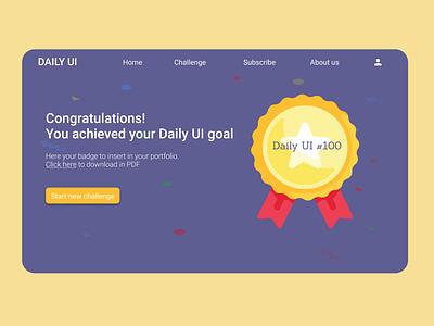 Daily UI 084 - Badge dailyui 084 badge web ui ux design dailyuichallenge daily 100 challenge