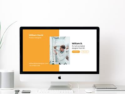Challenge 125 - Portfolio 125 portfolio web ux ui design dailyuichallenge daily 100 challenge