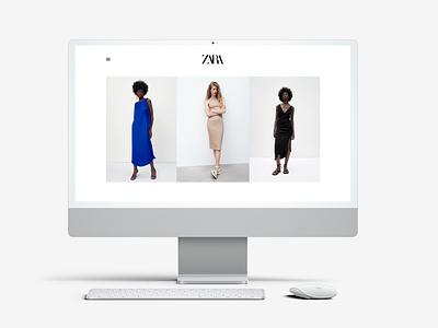 Challenge 132 - E-commerce e-commerce ecommerce shop 132 web ui ux design dailyuichallenge daily 100 challenge zara