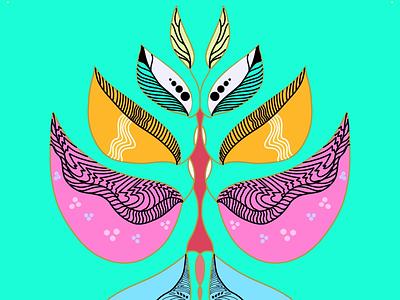 Serpentine uiux adobe boho yoga yogi