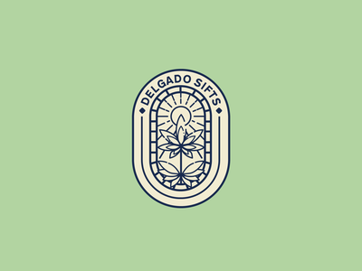 Logo Design for Delgado Sifts vector logo illustration design