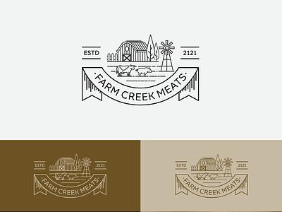 Farm Logo Design vector logo illustration design farm