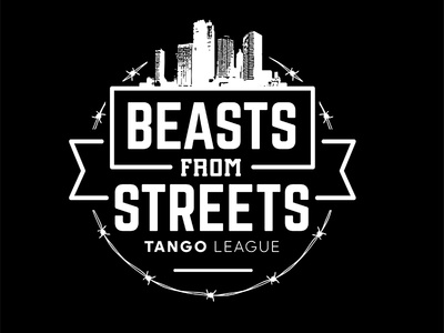 Beast from Streets industrial urban vector emblem tango league football sport vecster adidas