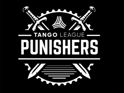 Punishers industrial urban vector emblem tango league football sport vecster adidas