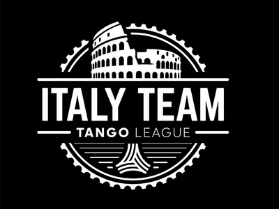 Italy Team industrial urban vector emblem tango league football sport vecster adidas