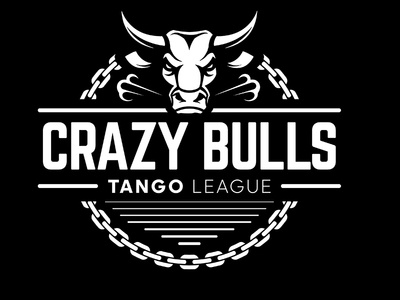 Crazy Bulls industrial urban vector emblem tango league football sport vecster adidas
