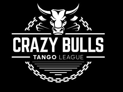 Crazy Bulls industrial urban vector emblem tango league football sport vecster adidas