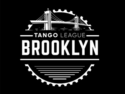 Brooklyn industrial urban vector emblem tango league football sport vecster adidas