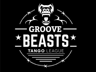Groove Beasts industrial urban vector emblem tango league football sport vecster adidas