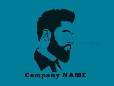 Face Logo facebook face avatoon logodesign minimallogo character design brandidentity idenity branding avatar facelogo logo