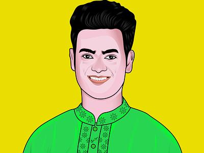 Portrait...♛ illustration cartoon illustration portraits portrait art portrait illustration cartoon character vector art