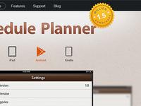 Schedule Planner Website