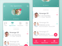Healthcare App - Appointments for Family