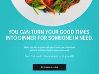 Plan a dinner give a dinner
