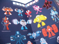 Robodome All robots Papered