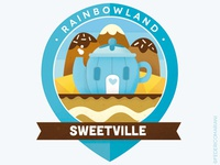 Rainbow Badges 13 -Sweetville